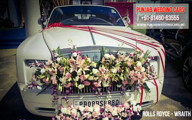 Rolls royce wraith ivory off white creamy wedding cars in rolls royce wraith ivory off white creamy available in chandigarh jalandhar junglespirit Choice Image